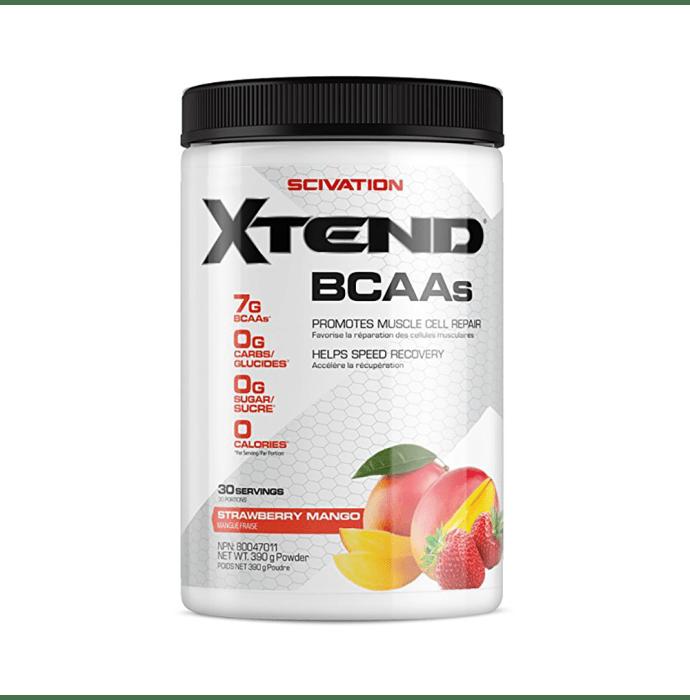 Scivation Xtend BCAA Powder Strawberry Mango