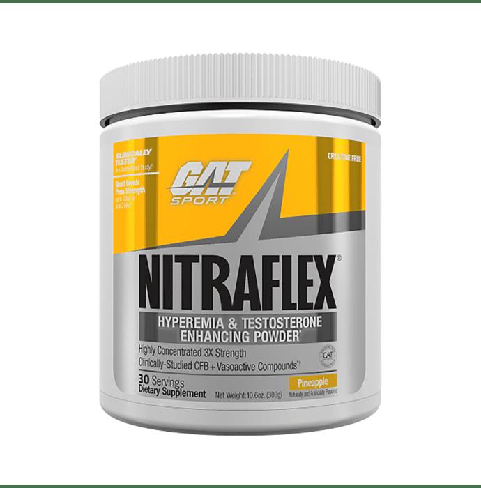 GAT Sport Nitraflex Powder Pineapple