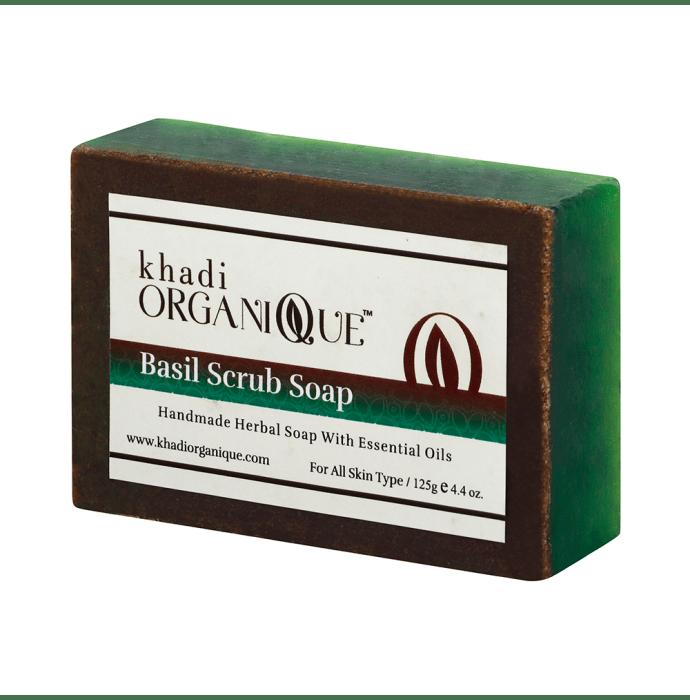 Khadi Organique Soap Basil Scrub