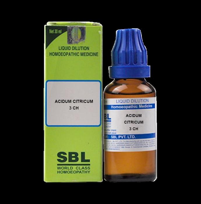 SBL Acidum Citricum Dilution 3 CH
