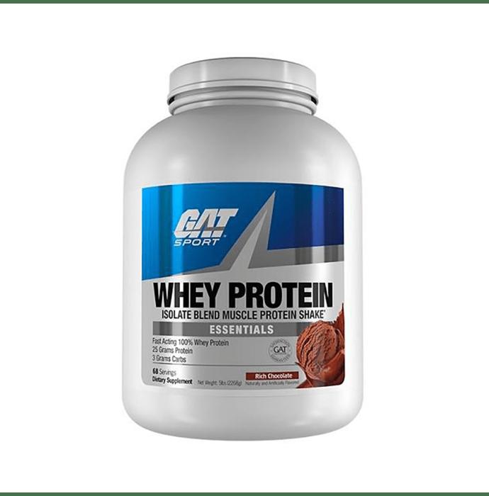GAT Sport Whey Protein Powder Rich Chocolate