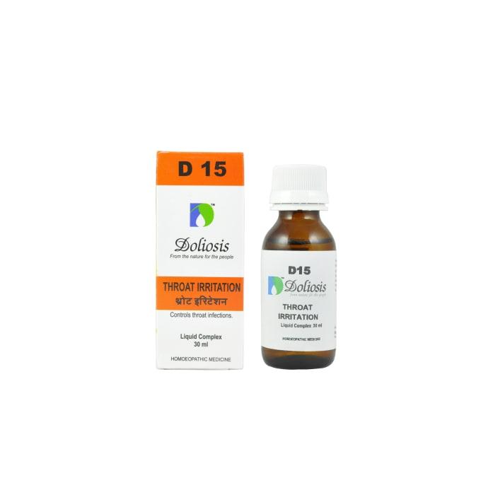 Doliosis D15 Throat Irritation Drop