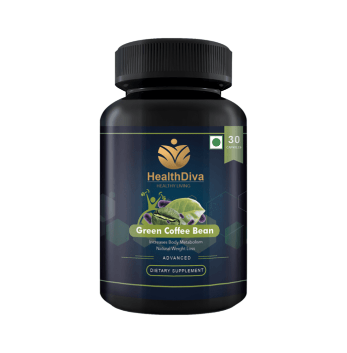 HealthDiva Green Coffee Bean Extract Capsule