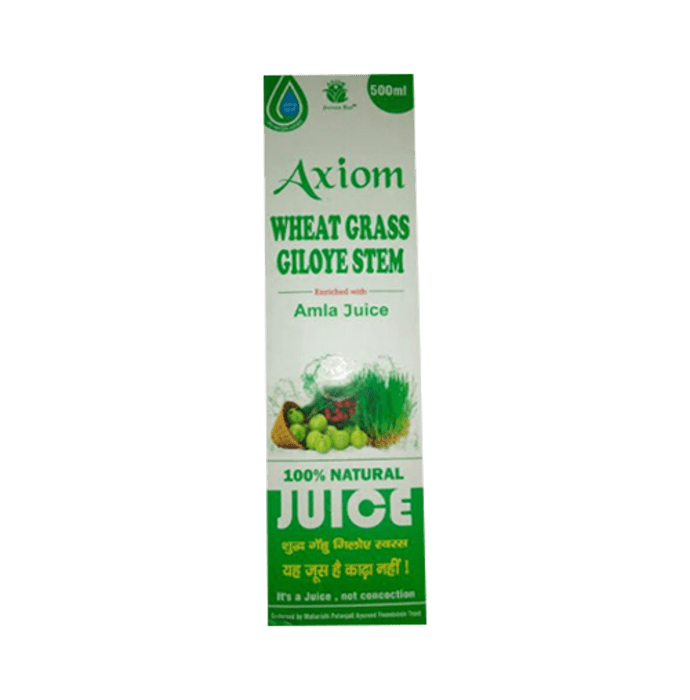 Axiom Wheat Grass Giloye Stem  Juice
