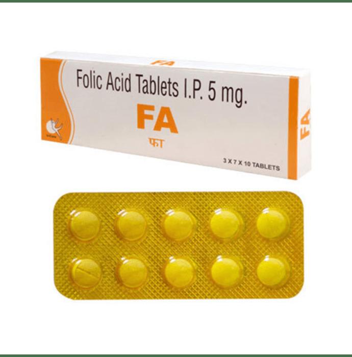 FA 5mg Tablet