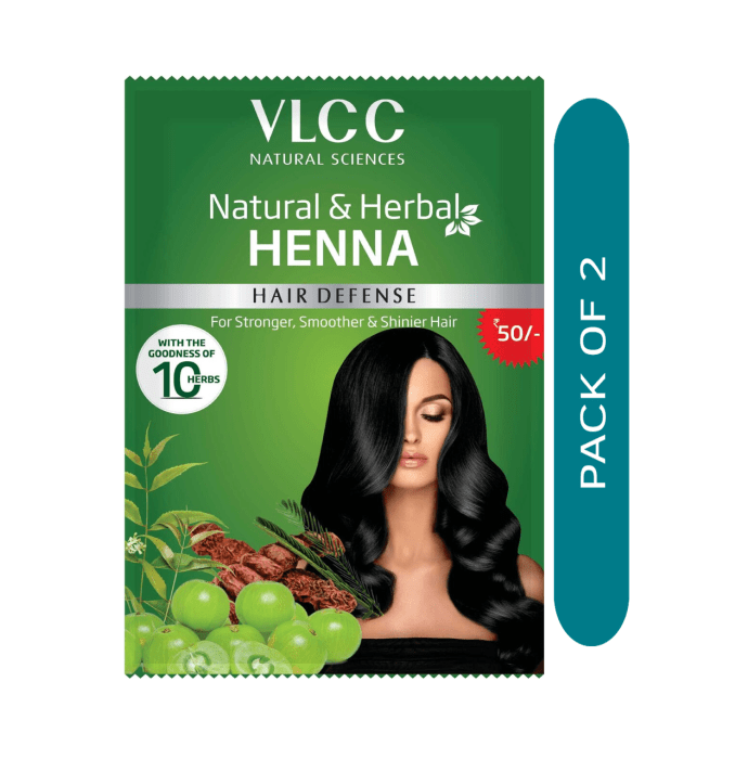 VLCC Natural & Herbal Henna Pack of 2