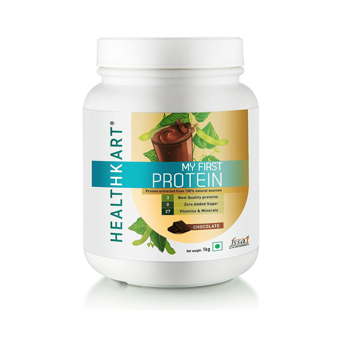 HealthKart My First Protein, Beginners Protein with Whey & Casein Chocolate