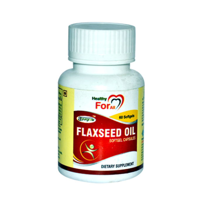 Ayurgrow Flaxseed Oil Capsule