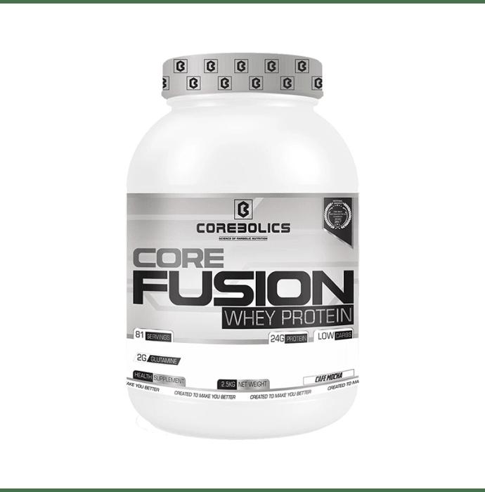 Corebolics Core Fusion Whey Protein Cafe Mocha