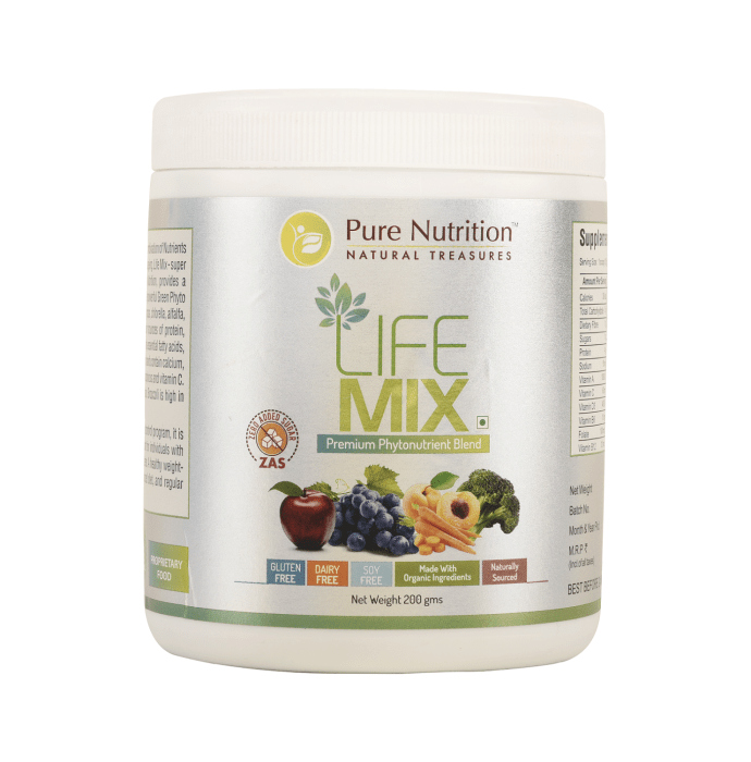 Pure Nutrition Life Mix Powder