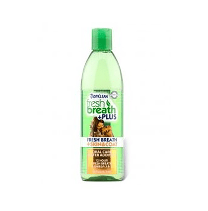 Tropiclean Fresh Breath Plus Skin & Coat Water Additive