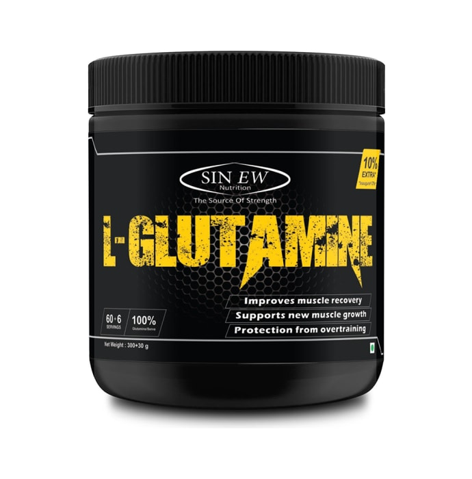 Sinew Nutrition L-Glutamine Powder Unflavoured