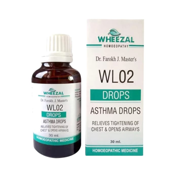Wheezal WL02 Asthma Drop