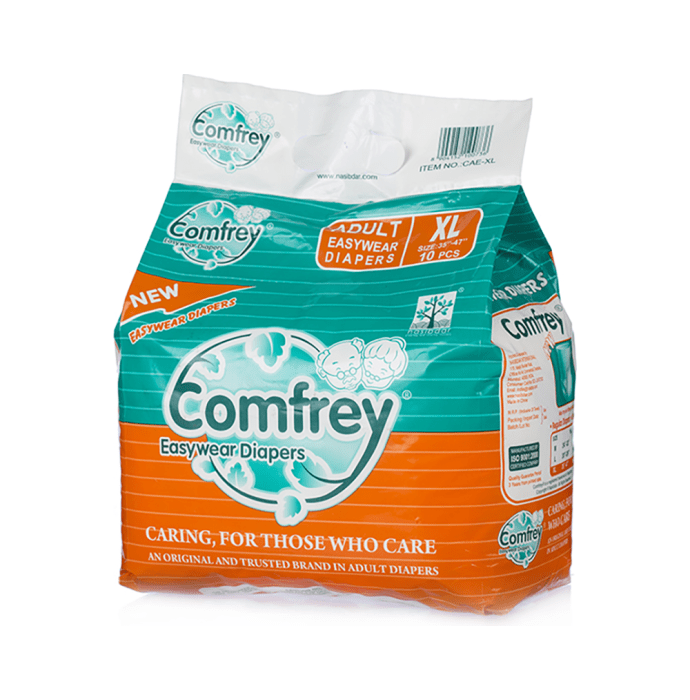 Comfrey Easy Wear Pant Type Adult Diaper XL