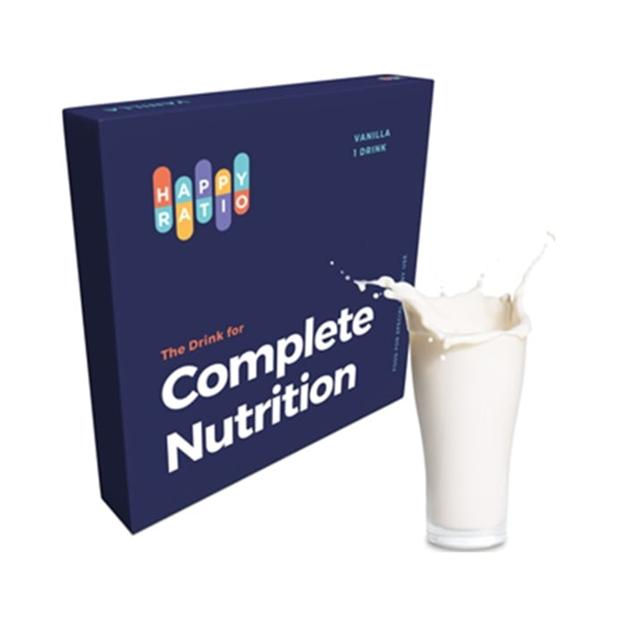 Happy Ratio The Drink for Complete Nutrition Vanilla