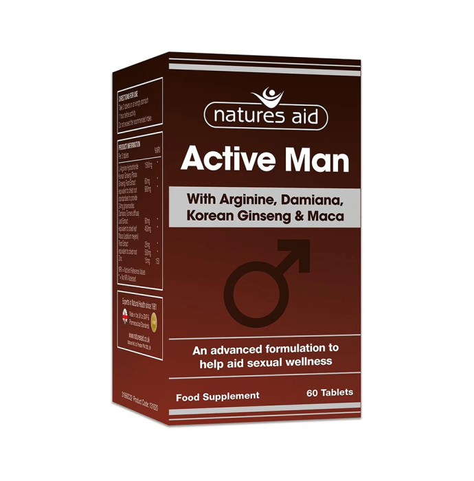 Natures Aid Active Man Tablet