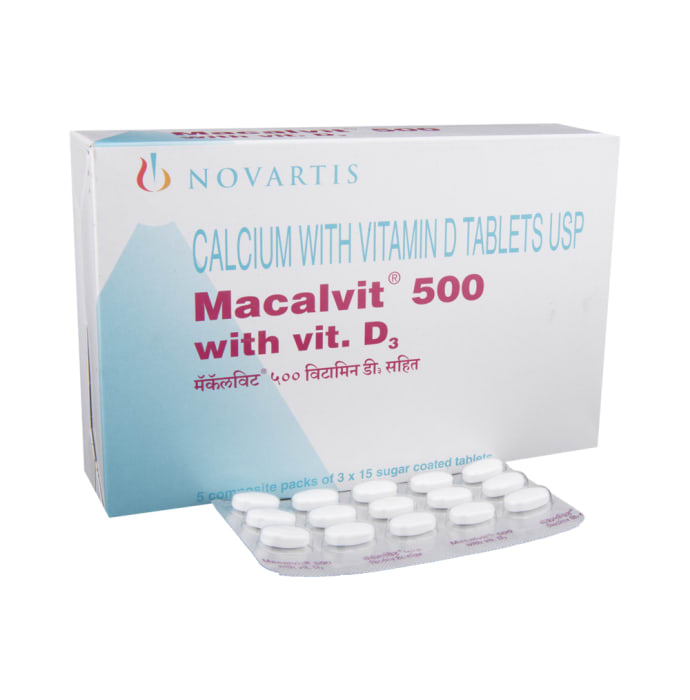 Macalvit 500mg Tablet