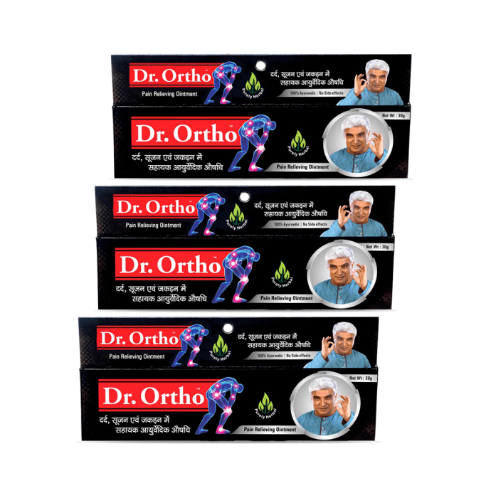 Dr Ortho Pain Relief Ointment Pack of 3
