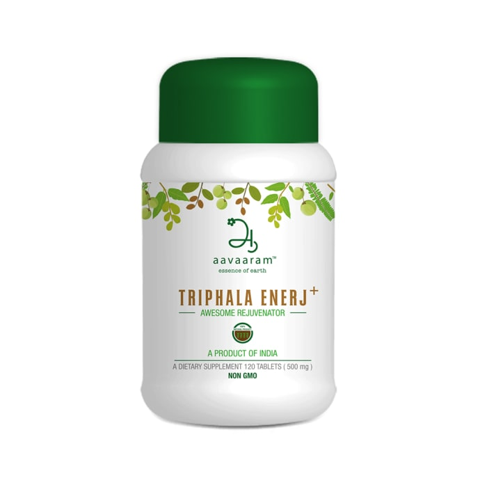 Aavaaram Triphala Enerj Plus 500mg Tablet