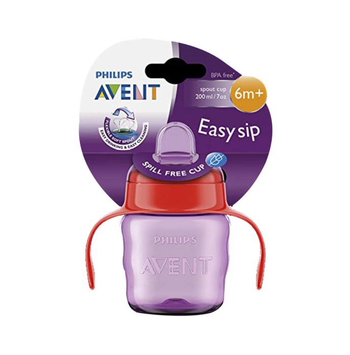 Philips Avent Classic Soft Spout Cup Pink and Purple