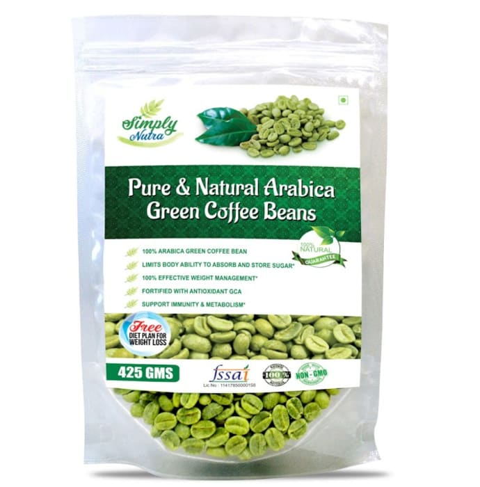 Simply Nutra Pure and Natural Arabica Green Coffee Beans