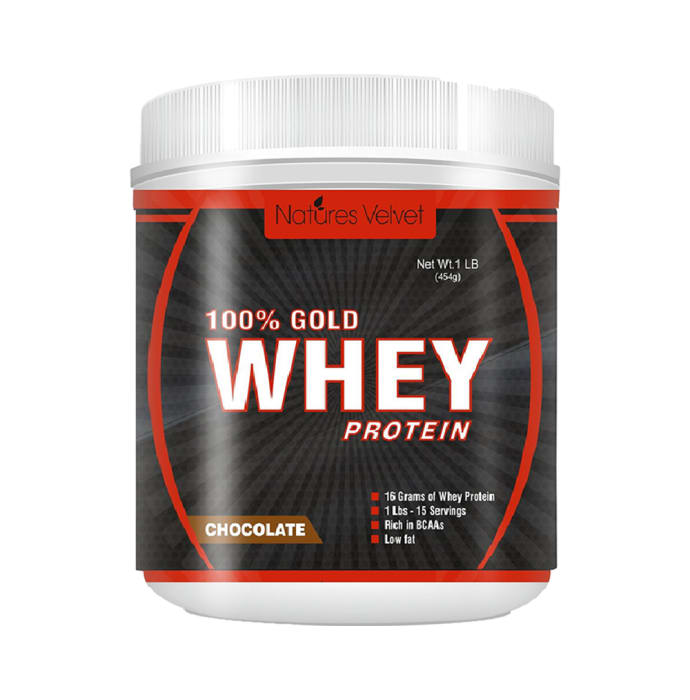 Natures Velvet Lifecare 100% Gold Standard Whey Protein Double Rich Chocolate