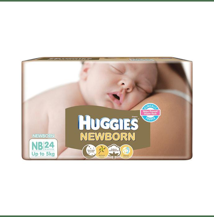 Huggies New Born Baby Diaper NB