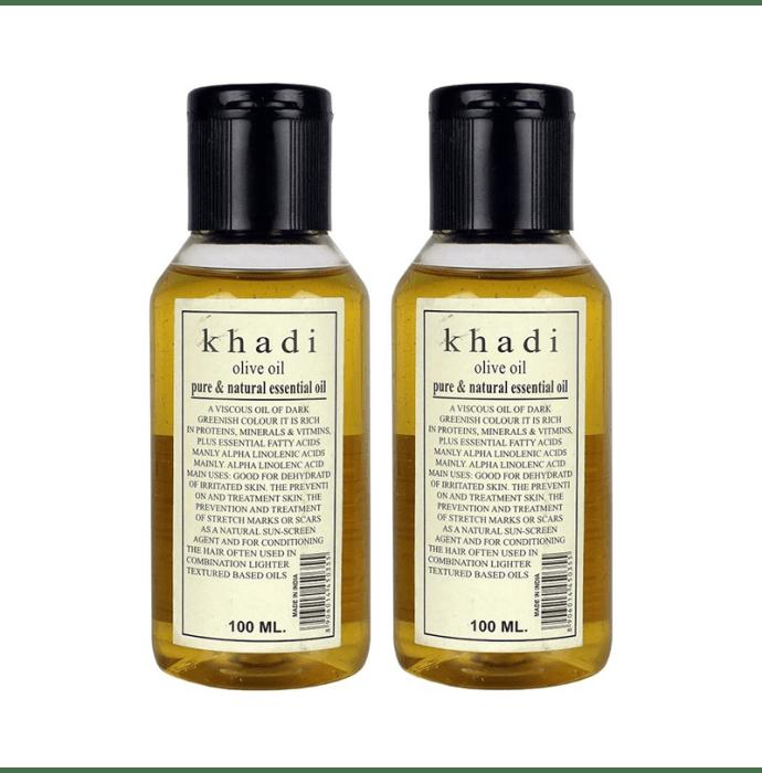 Khadi Herbal Olive Oil Pack of 2