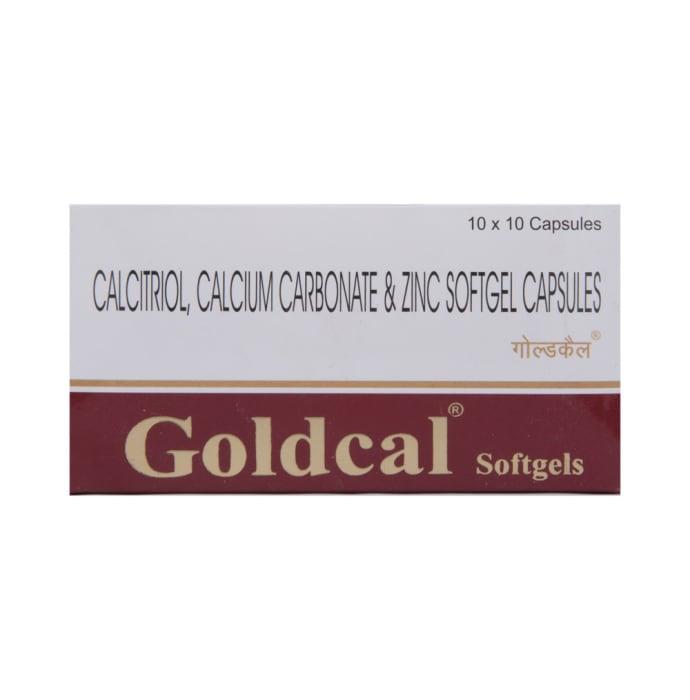 Goldcal Soft Gelatin Capsule