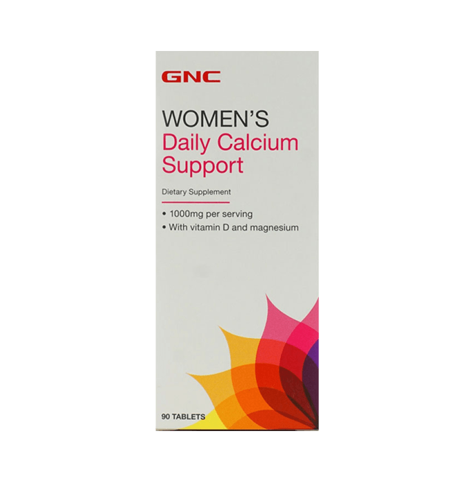 GNC Women's Daily Calcium Support  Tablet Pack of 2