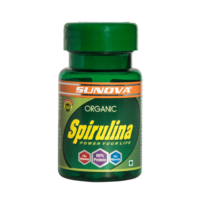 Sunova Organic Spirulina Tablet