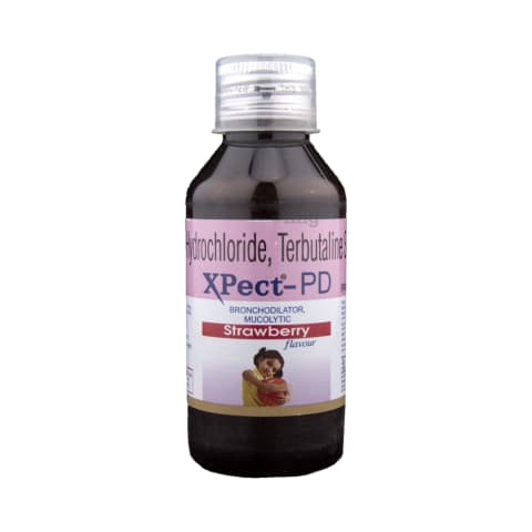 XPect-PD Syrup Strawberry: View Uses, Side Effects, Price and