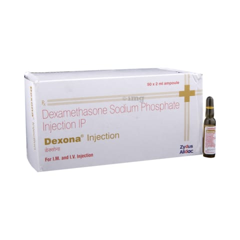 Dexona 4 mg Injection: View Uses, Side Effects, Price and