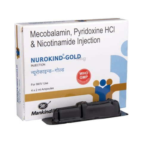 Nurokind-Gold Injection: View Uses, Side Effects, Price and