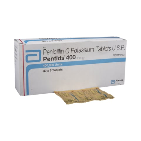 Pentids 400 Tablet: View Uses, Side Effects, Price and Substitutes | 1mg