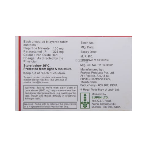 Ketoflam-P Tablet: View Uses, Side Effects, Price and