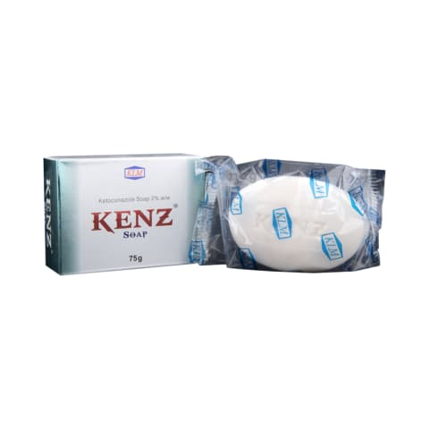 Kenz Soap: View Uses, Side Effects, Price and Substitutes | 1mg