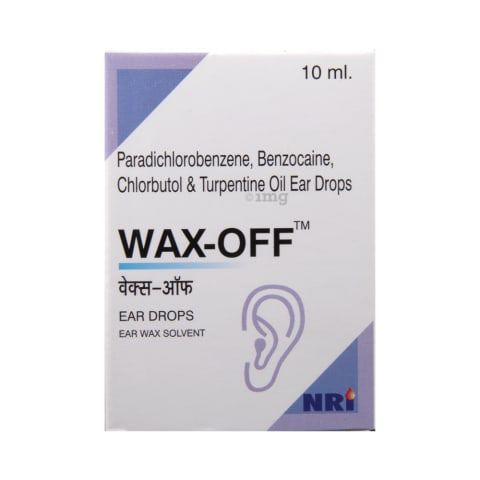 Wax-Off Ear Drop: View Uses, Side Effects, Price and Substitutes   1mg