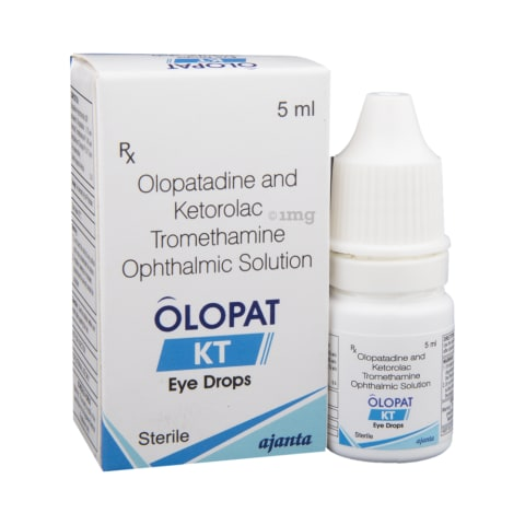 Olopat Kt Eye Drops View Uses Side Effects Price And Substitutes