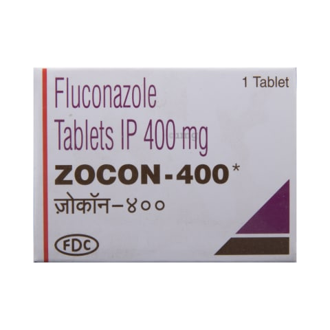 Zocon 400 Tablet: View Uses, Side Effects, Price and