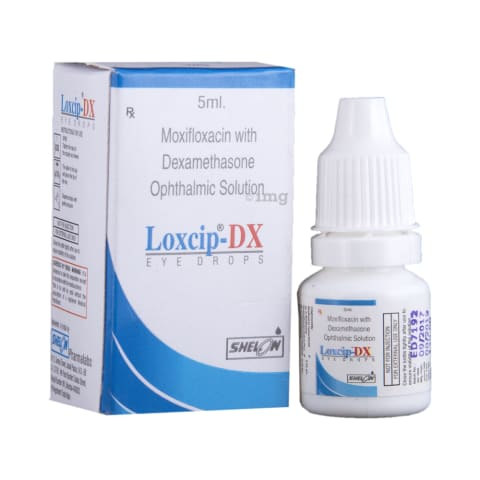 Loxcip-DX Eye Drops: View Uses, Side Effects, Price and