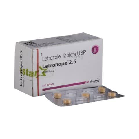 Letrohope 2 5 Tablet: View Uses, Side Effects, Price and Substitutes