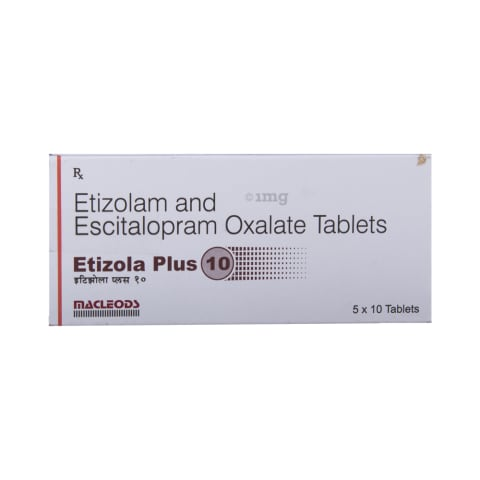 Etizola Plus 10 Tablet: View Uses, Side Effects, Price and