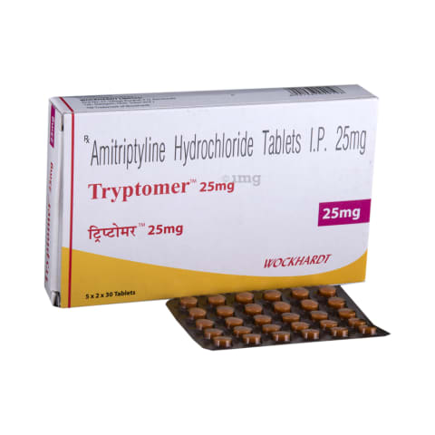 Tryptomer 25 mg Tablet: View Uses, Side Effects, Price and