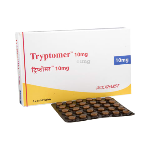 Tryptomer 10 mg Tablet: View Uses, Side Effects, Price and