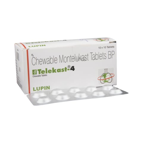Telekast 4 Chewable Tablet View Uses Side Effects Price