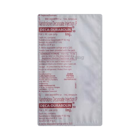 Deca-Durabolin 50 Injection: View Uses, Side Effects, Price