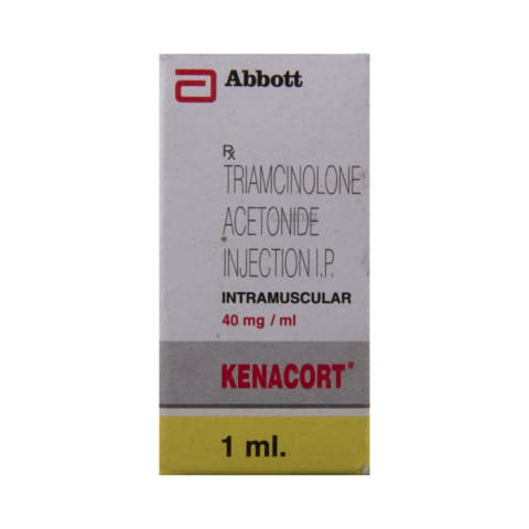 Kenacort 40mg Injection: View Uses, Side Effects, Price and