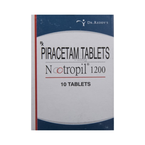 Nootropil 1200 Tablet View Uses Side Effects Price And