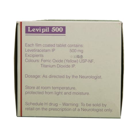 Levipil 500 Tablet: View Uses, Side Effects, Price and